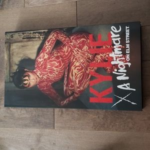 Brand New Kylie A Nightmare On Elm Street Lashes and Lip & Cheek Jelly in PR box